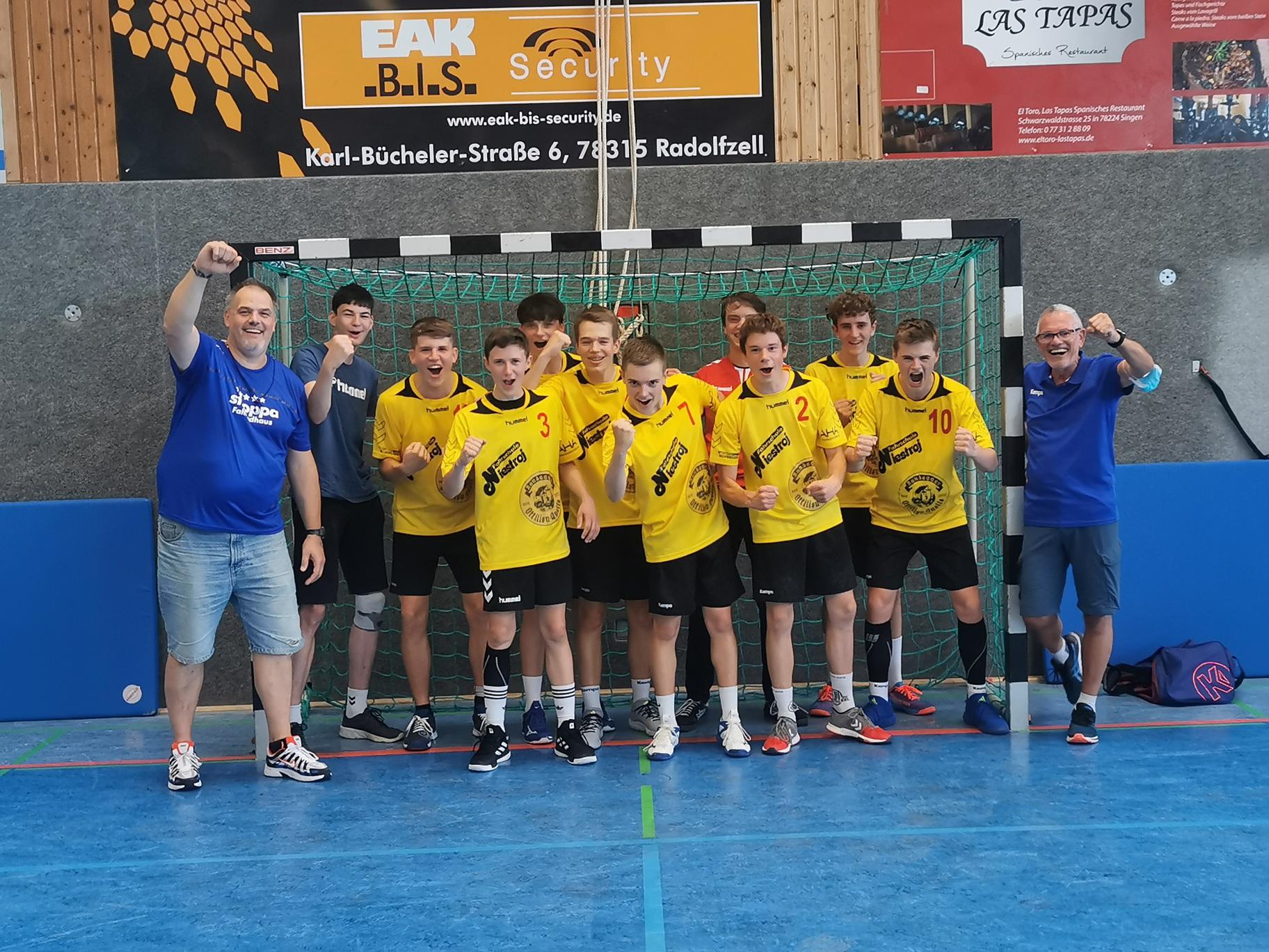 A-Männlich gewinnt 33. Hohentwiel-Cup
