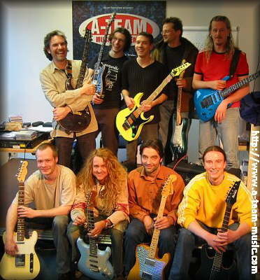 Holm, Mike, Dieter, Andy, WaWa, Tommy, Jörg, Gernot