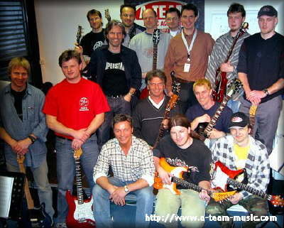 Christian, Andi, HaPé, Jan, Chris, Rudi, Martin, Wolfgang, Marco, Gero, Thomas, Tim, Andy, Markus
