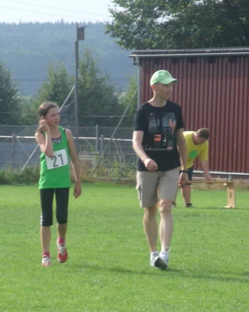 Lena mit Trainer