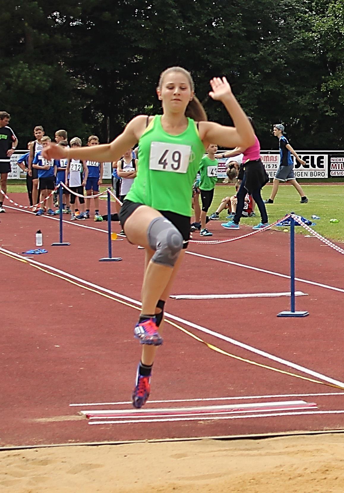 2016 gewann Julia Businger sieben Titel und sechs weitere Medaillen.