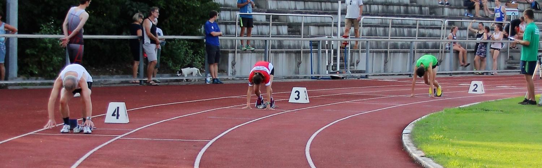 400m-Start von Jonas