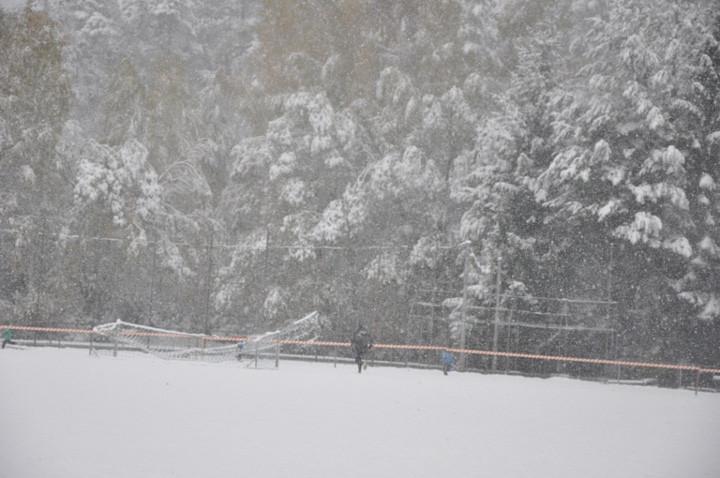 Schneetreiben in Dinkelscherben