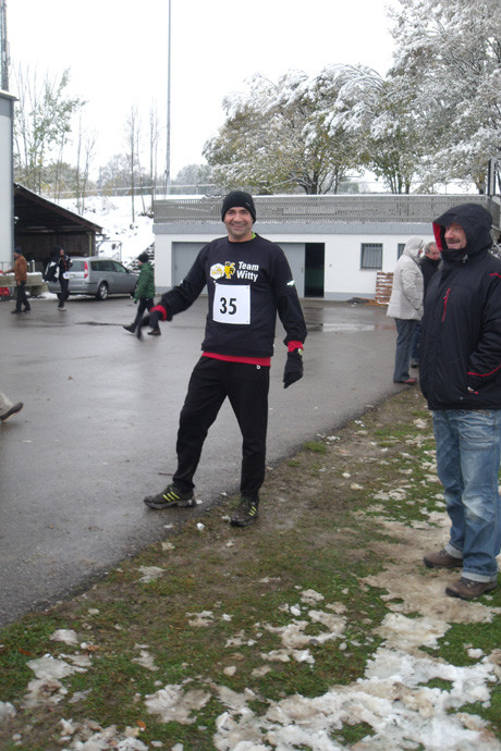 Zufriedener Jedermannsläufer Markus