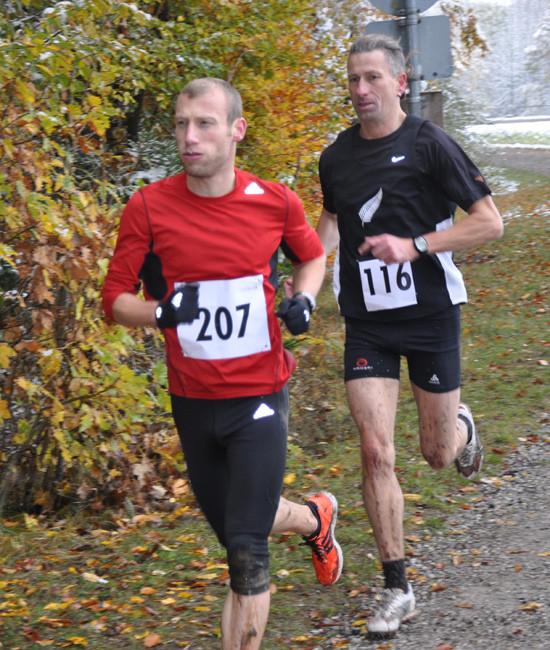 Die Stärksten: Sieger Richard Negele (rechts) und Thomas Huber