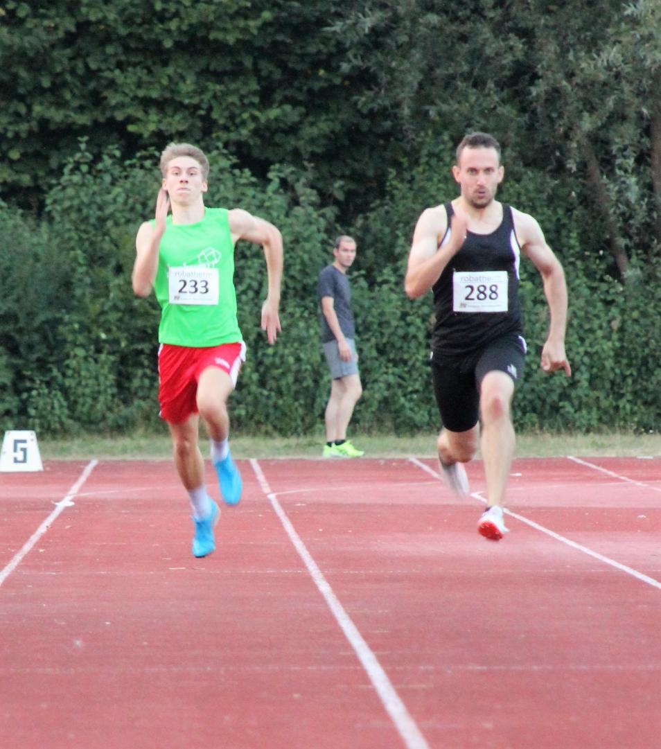 David sprintet 200m
