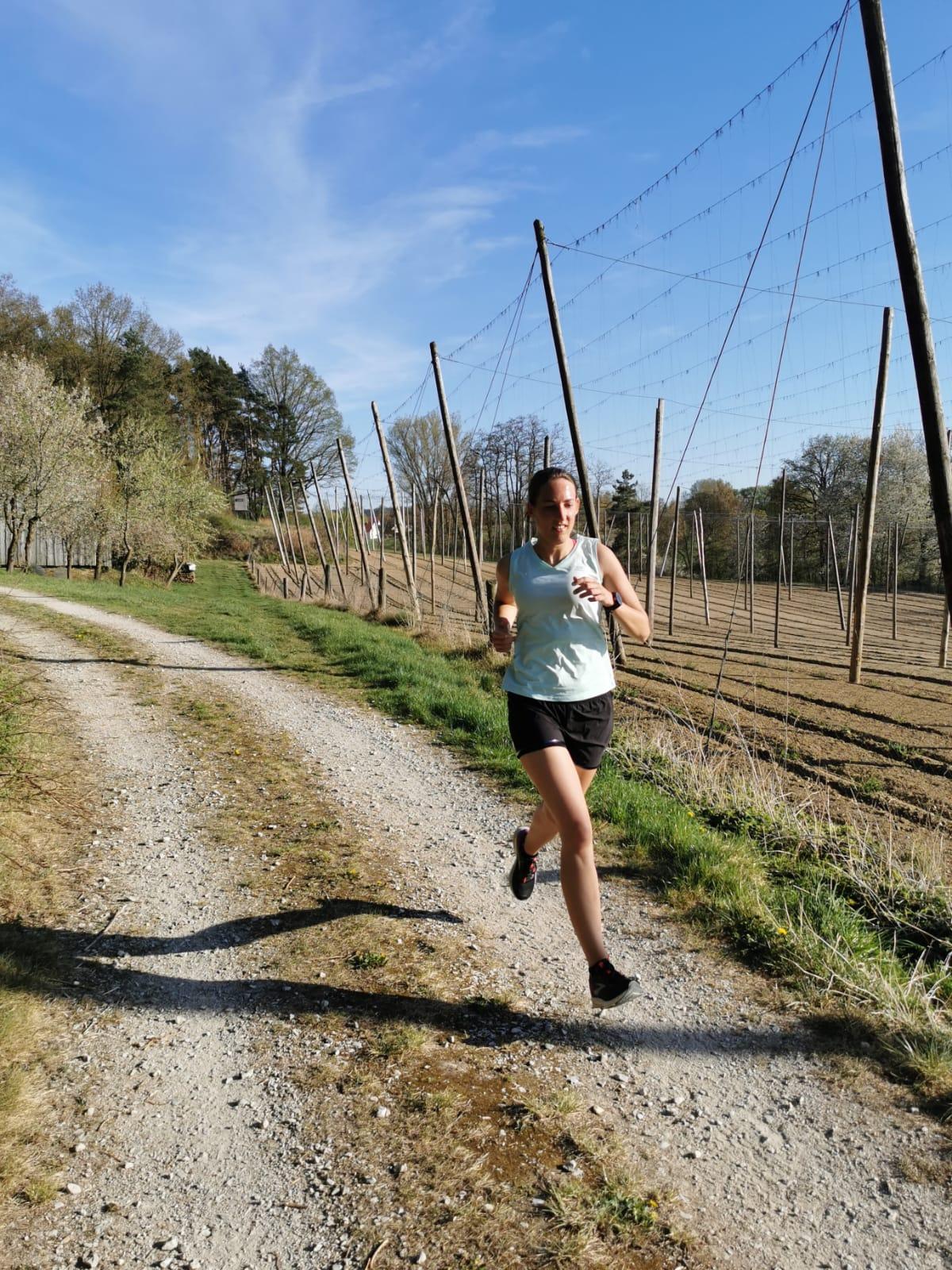 Marina: 121 km Lauf, 75 km Rad