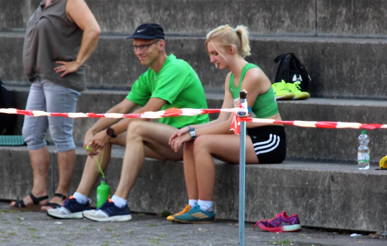 Trainer Michael und Maja