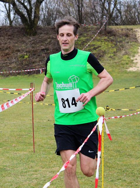 Simon auf Platz 2 und Platz 1 M35