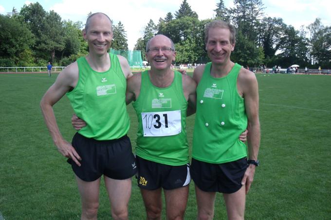 Meister über 1500m:    Michael Sandner, Franz Herzgsell, Uwe Gerstner
