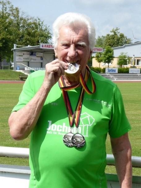 Franz Gries mit drei Goldmedaillen bei den EM