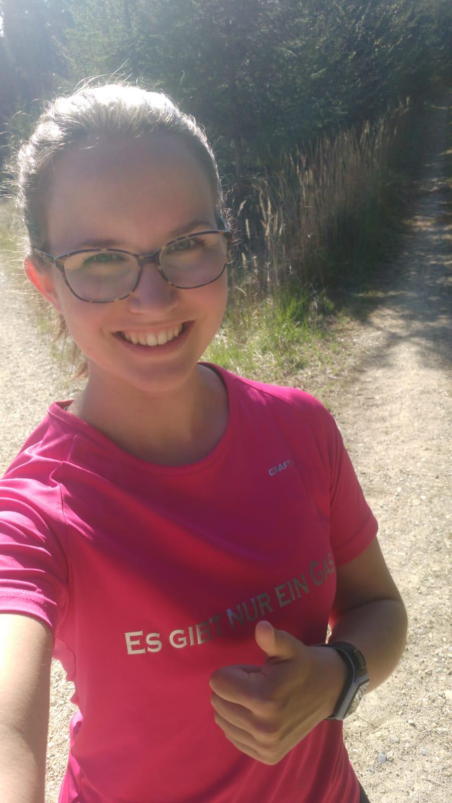 Annette: 102 km Lauf, 40 km Rad