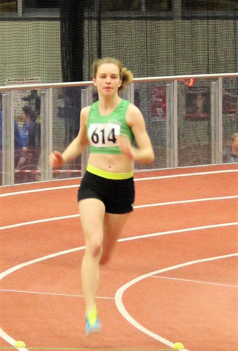 Sarah 800m