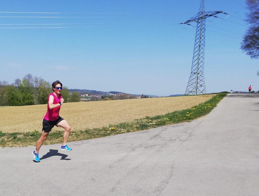 Simon: 141 km Lauf, 90 km Rad