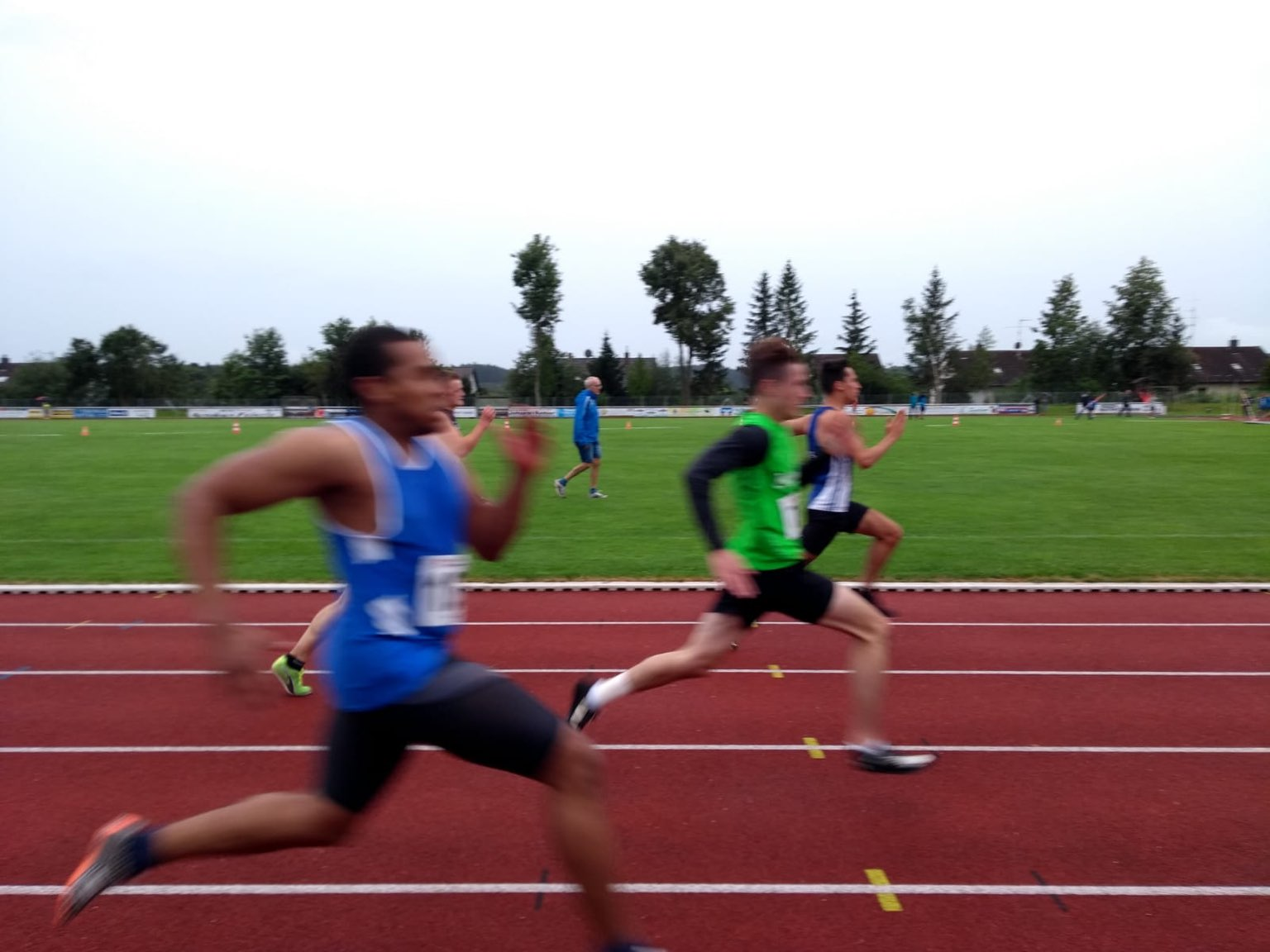 Johannes läuft PBL über 100m