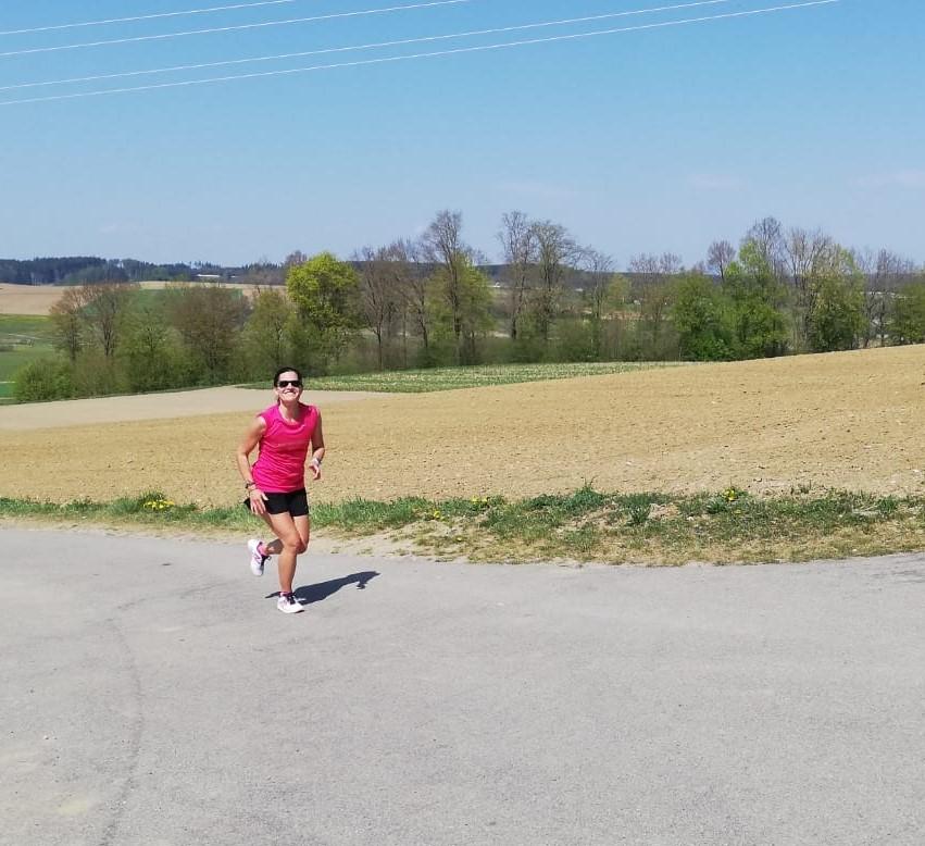Sabine: 125 km Lauf, 90 km Rad