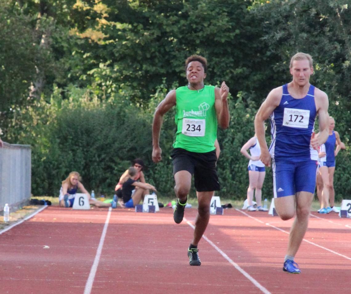 Emmanuel sprintet