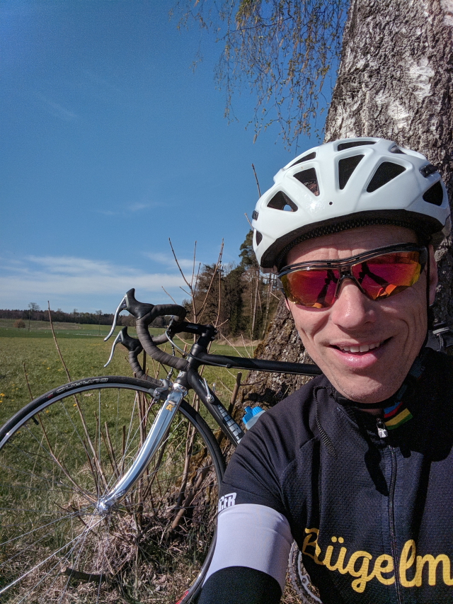 Michael: 84 km Lauf, 143 km Rad, 2 Std. Kraft+Stabi
