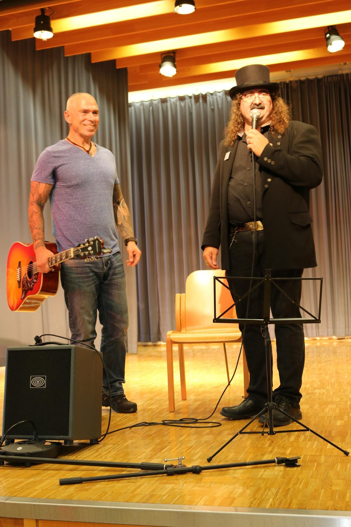 Eddie und der Musiker