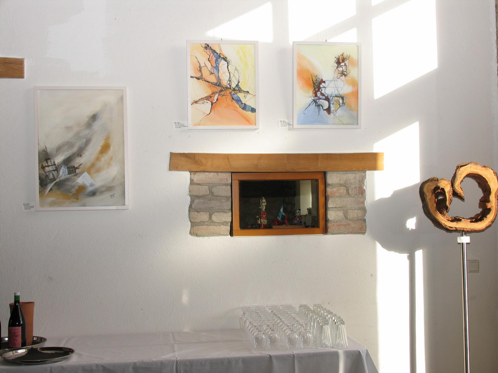 Bilder am Eingang