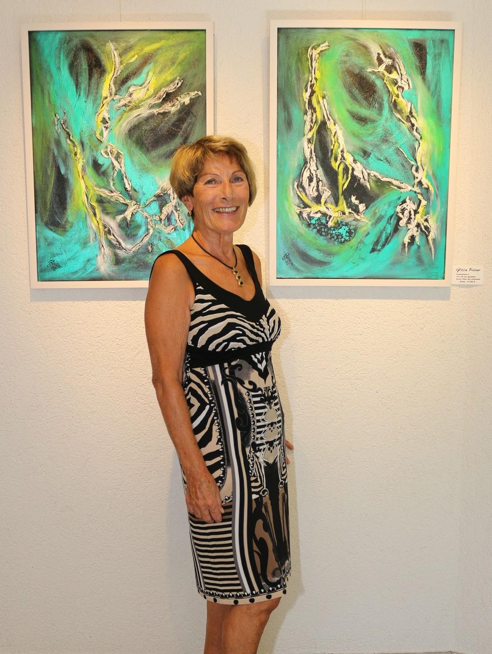 Gitta Reiner vor 2 Bilder