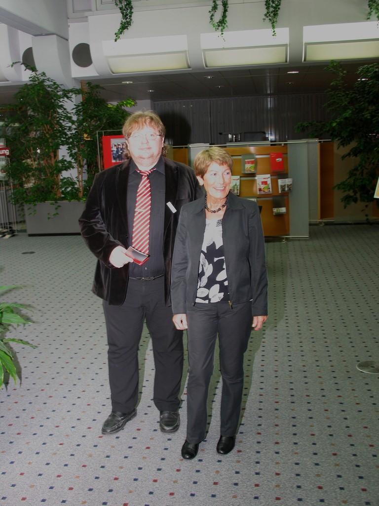 Herr Zeller und Gitta Reiner