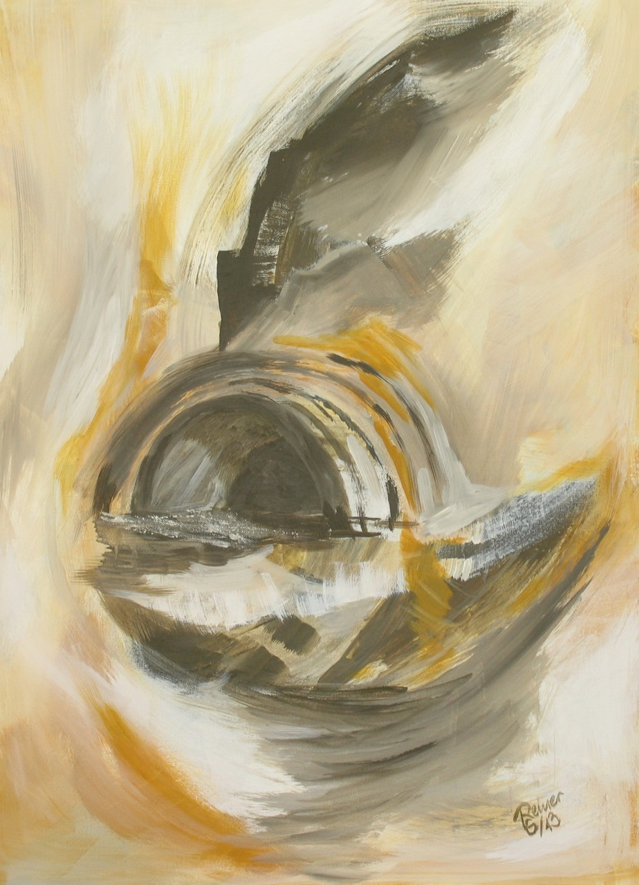 Tunnel, Acryl auf Leinwand, 70 x 50 cm