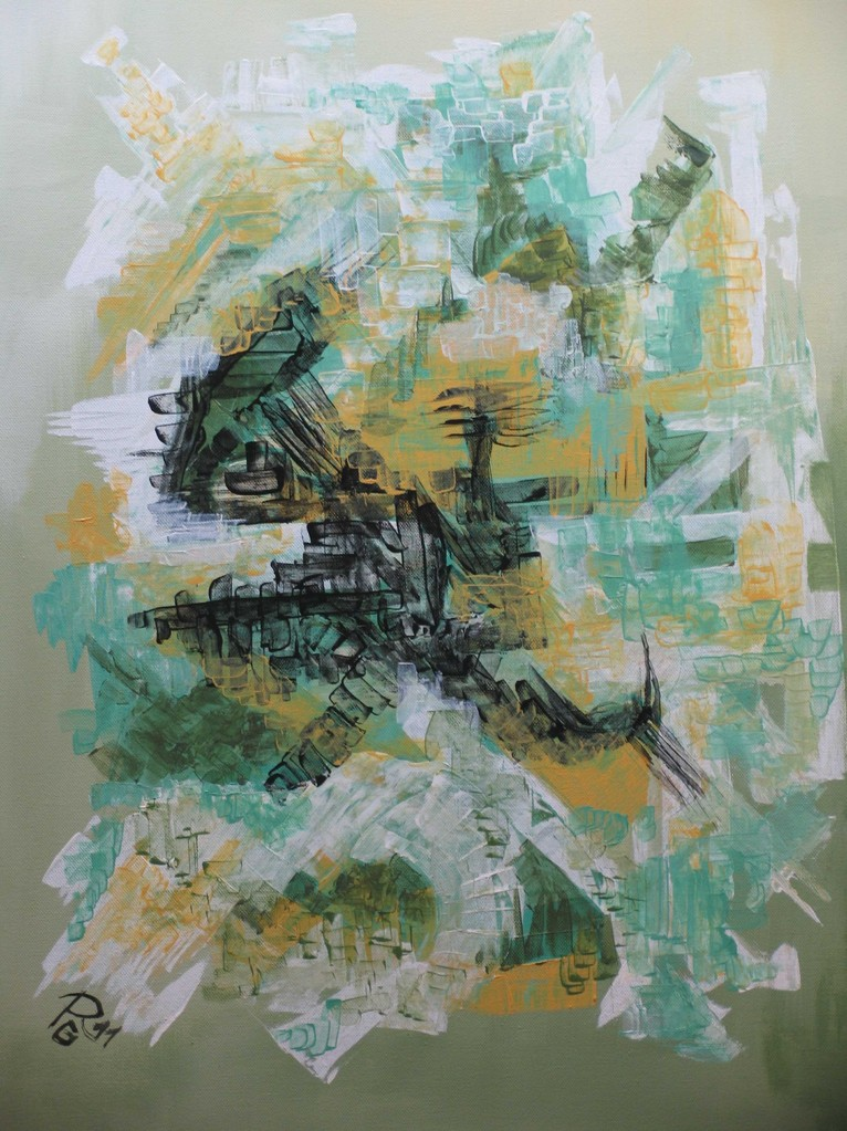 Frühling, Acryl auf Leinwand, 70 x 50 cm