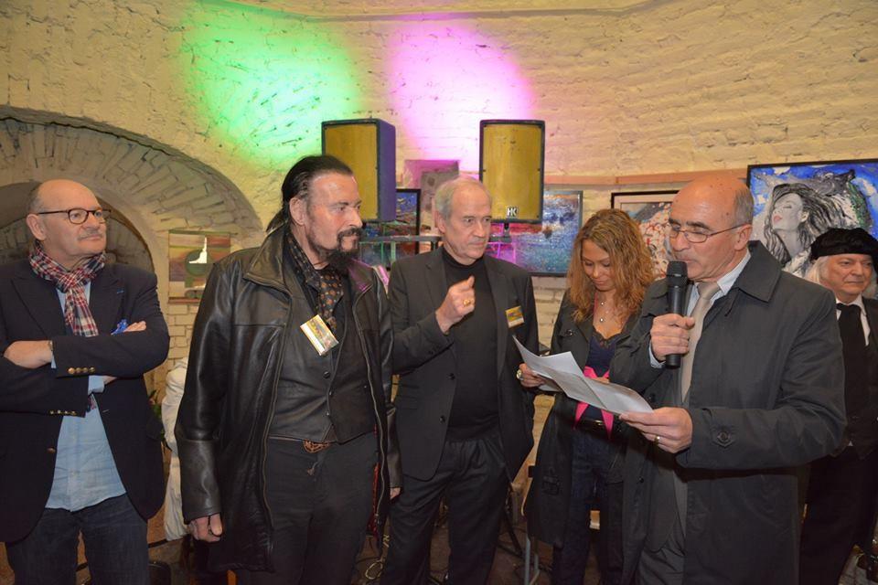 Bürgermeister Neuf Brisach und Gäste
