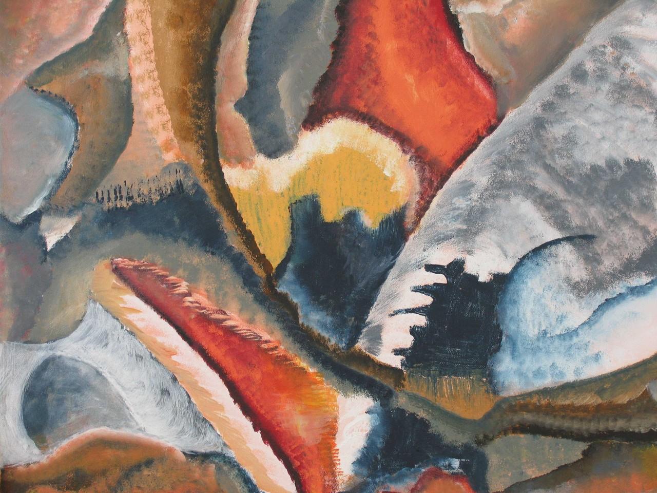 Hai, Acryl auf Leinwand, 50 x 70 cm