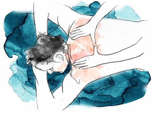 Avec la digipuncture Nantes, les points d'acupression de chaque côté de la colonne vertébrale sont stimulés