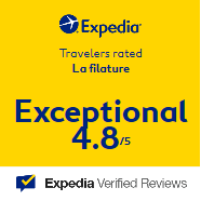 Note Expedia La Filature - Saint Quentin