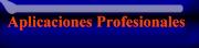 Aplicaciones profesionales
