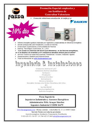 Promoción DAIKIN 10% dto