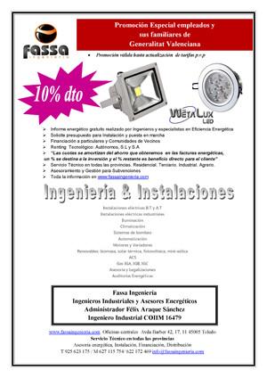 Promoción Wetalux LED GVA