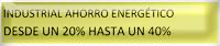 Ahorro Energético en el sector Industrial