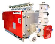 Caldera Biomasa a módulos