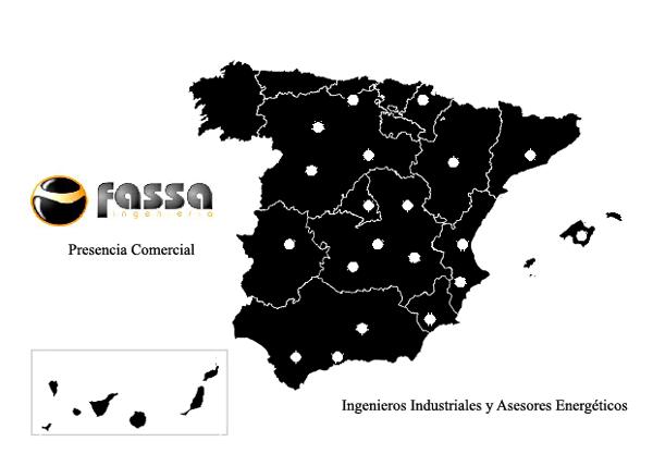 Red de comerciales FASSA Ingeniería