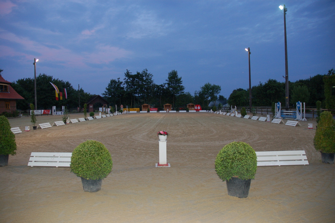 Hauptplatz mit Turnierviereck
