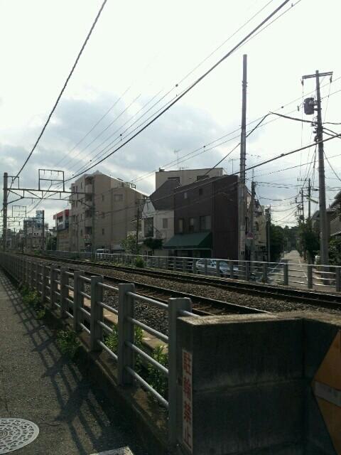 東急大井町線の線路