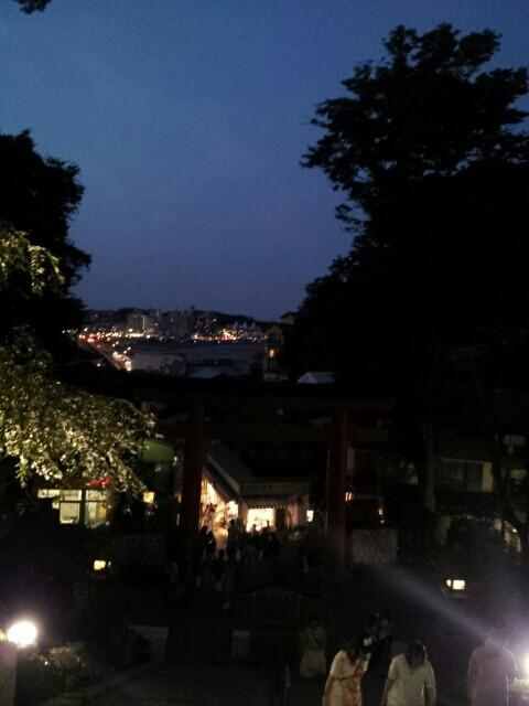 江ノ島神社からの夜景