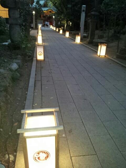 江ノ島の灯篭