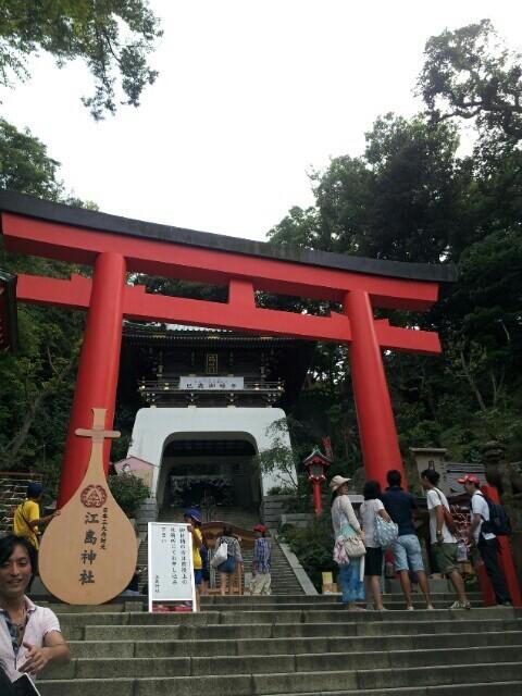 江ノ島神社の鳥居