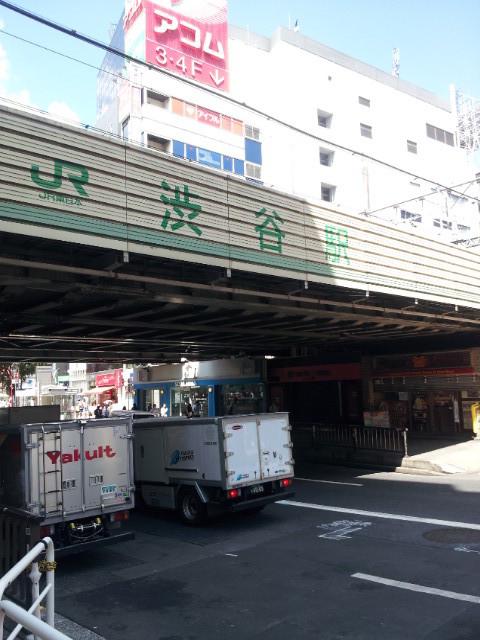 JR渋谷駅の高架下