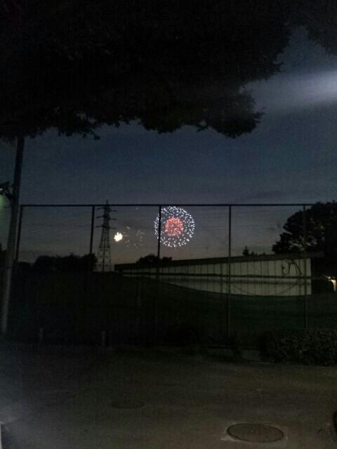 二子玉川の花火