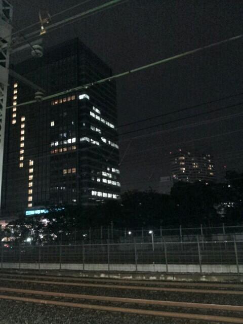 浜松町の夜