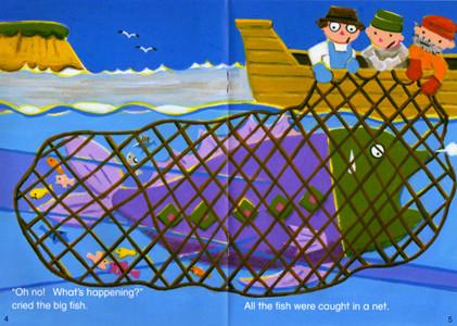 ECC教育研究所 教材「PAGE-TURNERS」大きな魚 2007