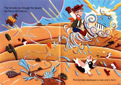ECC教育研究所 教材「READING BOOK」ペイコス・ビル竜巻に乗る 2006