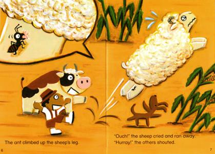 ECC教育研究所 教材「PAGE-TURNERS」畑の羊 メキシコ民話 2007