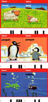 ベネッセコーポレーション  Worldwide Kids English 知育ゲームカード8種 2008